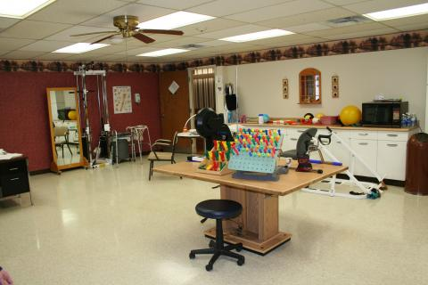 The Pines Olean Activity Room