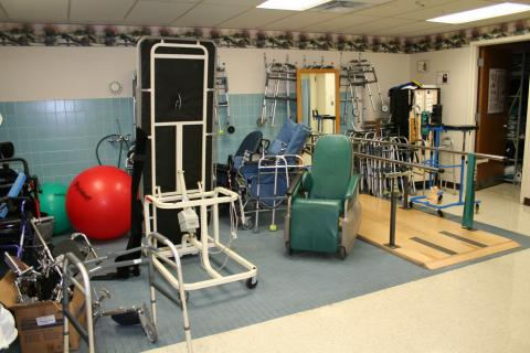 The Pines Olean Physical Therapy Room